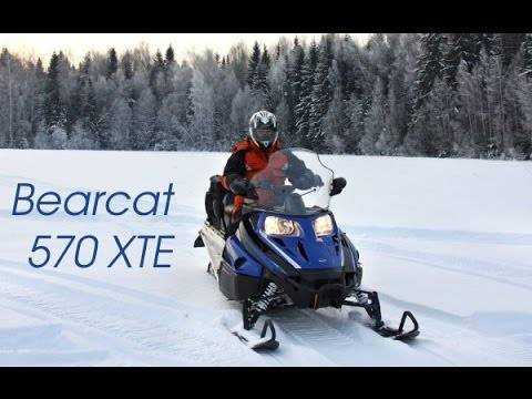 Снегоход arctic cat bearcat 570 xt