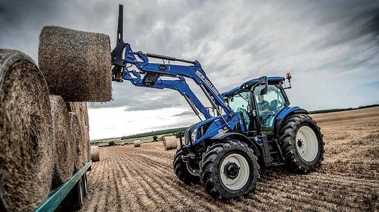 Трактор new holland t7060 — мощный универсал сельскохозяйственного назначения